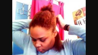 Organix Keratin Treatment on Natural Hair