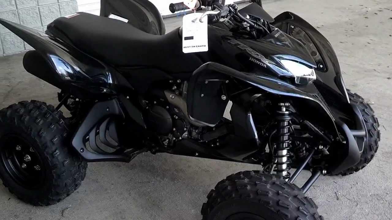 2009 Honda TRX700XX ATV Video with Walkaround & Startup at Honda of ...
