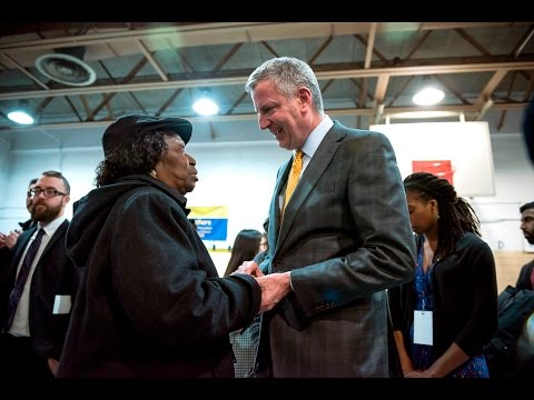 Mayor de Blasio Hosts Brooklyn Town Hall Meeting
