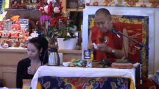 Yamantaka Empowerment by H E  Garchen Rinpoche, January 27th 2019
