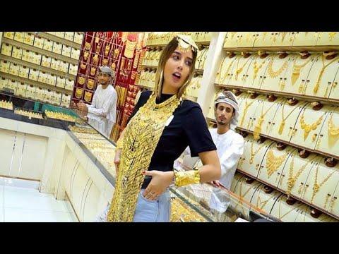 famous Gold Souk Dubai 🇦🇪