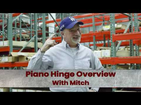 How A Hinge Is Made. The Piano Hinge.
