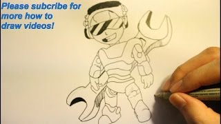 How To Draw A Robot|For Beginners|From Real Steel|Step By Step With Pencil