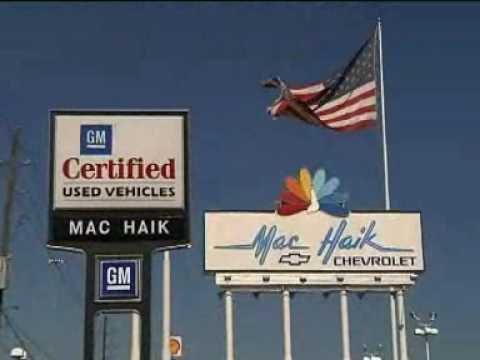Mac Haik Chevrolet Commercial - YouTube