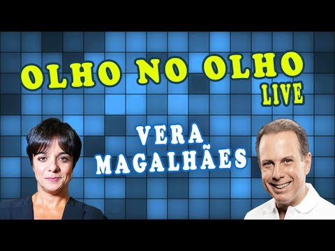 João Doria entrevista a jornalista Vera Magalhães - Olho no Olho Live