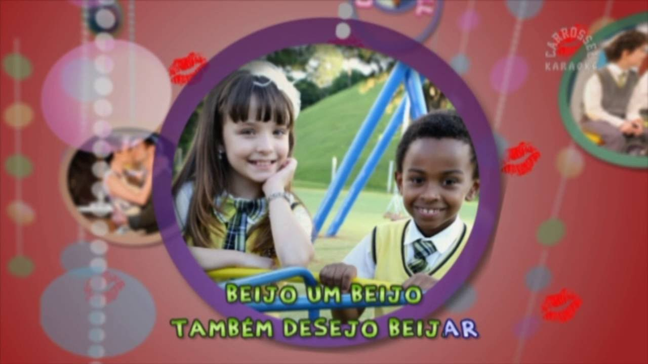 4cf7bee99650b Beijo, Beijinho, Beijão - Larissa Manoela - Carrossel Karaokê - Novela  Carrossel - YouTube