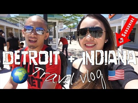 Detroit and Indiana Travel Vlog