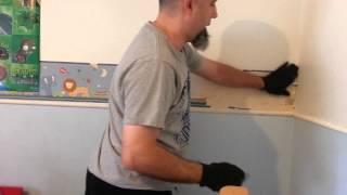 How Remove Wallpaper Boarder