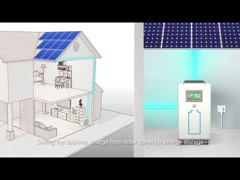 Household energy storage system-solar energy battery