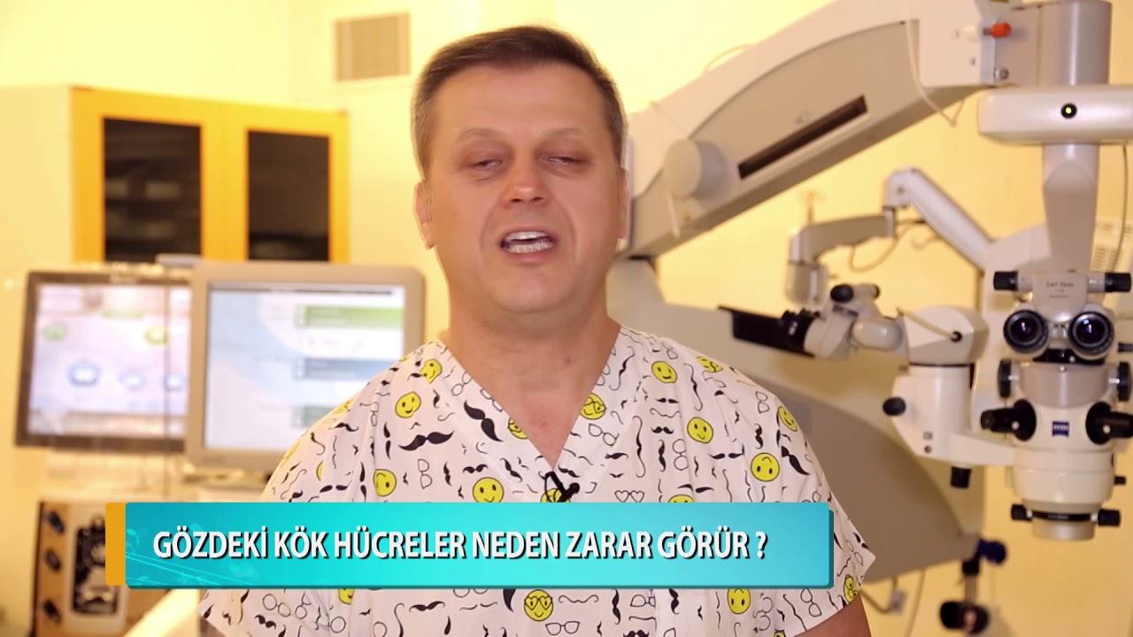 Gözdeki Kök Hücreler Neden Zarar Görür? Doç. Dr. Levent Akçay
