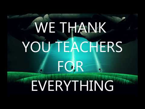 BEST SONG FOR TEACHERS DAY//Special Celebration Song [[karaoke  available]]