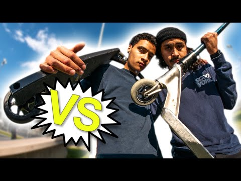 Daniel Cardenas VS Andrew Zamora - Game of V.A.U.L.T. │ The Vault Pro Scooters