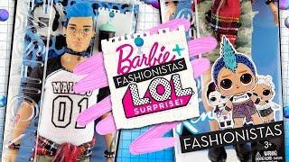 PUNK BOY 15 Years Later 🎧 | Barbie Fashionistas & LOL Surprise Collaboration!?