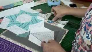 Tia Lili Patchwork: cortando hexágonos perfeitos sem molde