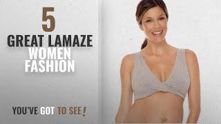 Lamaze Women Fashion [2018 Best Sellers]: Lamaze Cotton Spandex Sleep Bra for Nursing and Maternity