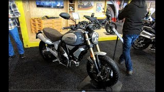DUCATI SCRAMBLER 1100 NEW MODEL 2018 COMPILATION RETRO BIKE WALKAROUND