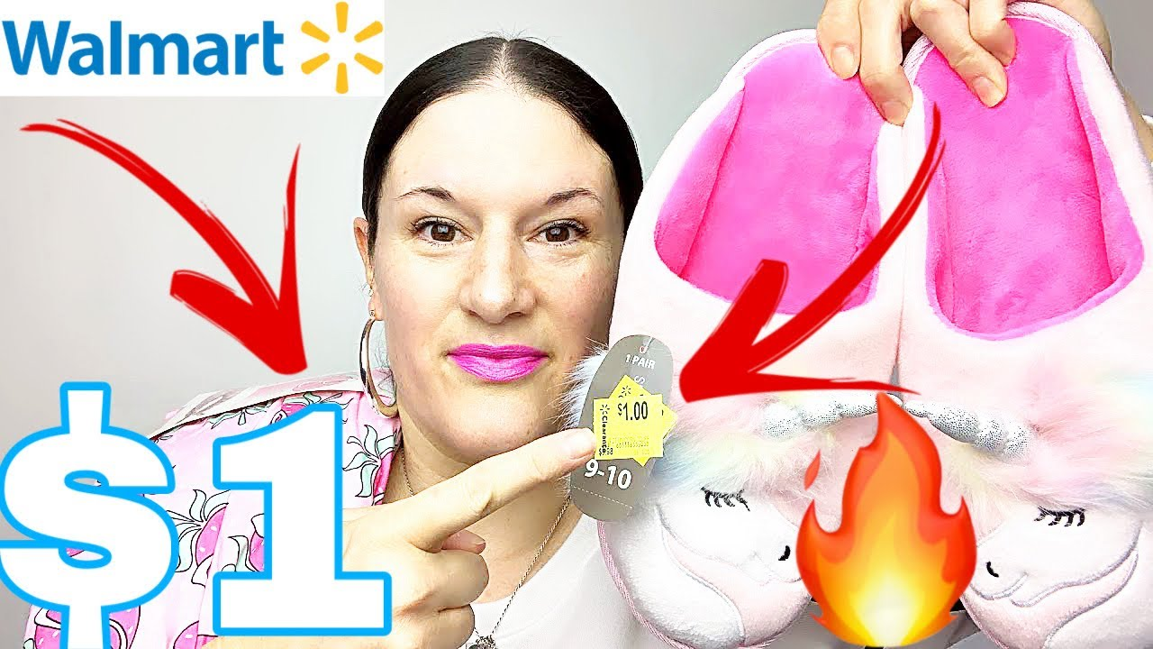 WALMART CLEARANCE!!!$1 CLOTHES, PJ'S + SLIPPERS!!! GET COZY!!!