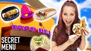 TRYING TACO BELL'S SECRET MENU HACKS