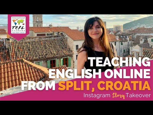 Day in the Life Teaching English Online from Split, Croatia with Yvonne Worden