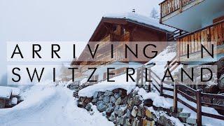 ARRIVING IN SWITZERLAND | TRAVEL VLOG
