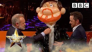 These James McAvoy balloon models are truly terrifying 😱 - BBC