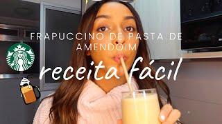 FRAPUCCINO (tipo Starbucks) EM CASA | cozinhando com Laura D ✨