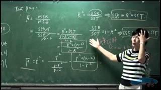 《國立中山大學開放式課程》生物統計學(李玉玲老師) 32.相關係數(correlation coefficient) -續(r與b之比較) ; 變方分析與迴歸分析之比較