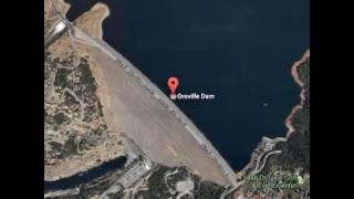 【速報】12日Oroville Dam オロビル湖ダム 決壊寸前 緊急排水路に穴 避難必要