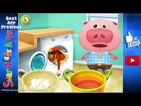 Dr. Panda Home - Fun Kids activity app for learning household chores