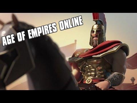 Age Of Empires Online - Greek Hoplite Warfare 3vs3 Gameplay