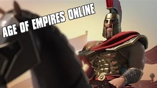 Age of Empires Online - Greek Hoplite Warfare 3vs3 Gameplay