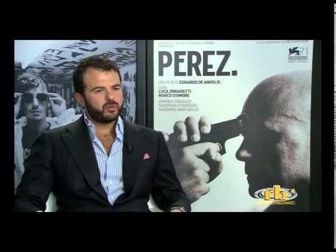 Edoardo De Angelis, intervista per Perez, RB Casting, Venezia 71