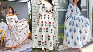 Latest Summer Special Cotton Frocks Designs Images For Working Womens / Girls /Ladies  2020