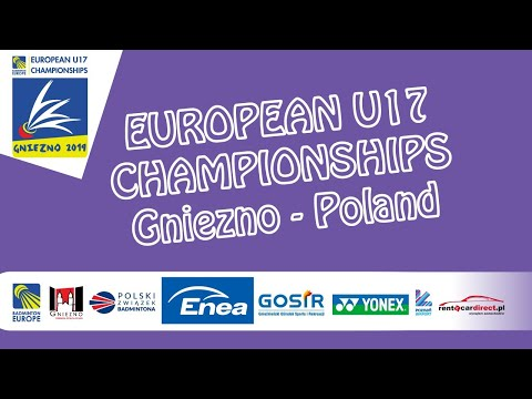 Van Leeuwen / Williams vs Boiarun / Iakovleva (WD, Final) - European U17 C'ships 2019