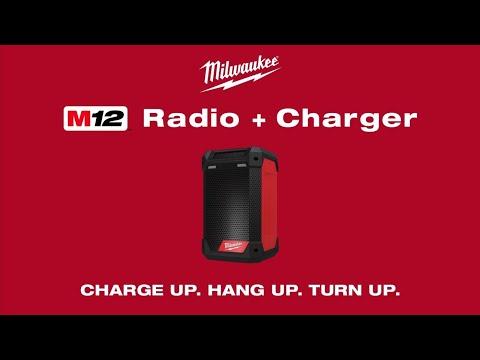 Milwaukee® M12™ Radio + Charger