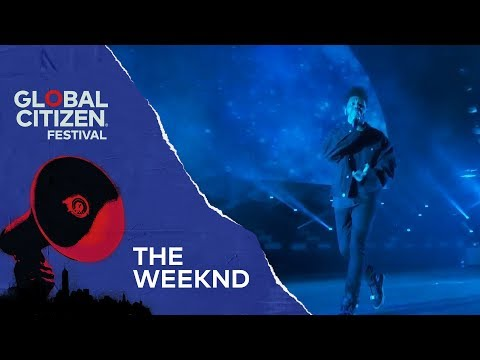 The Weeknd Performs Starboy | Global Citizen Festival NYC 2018