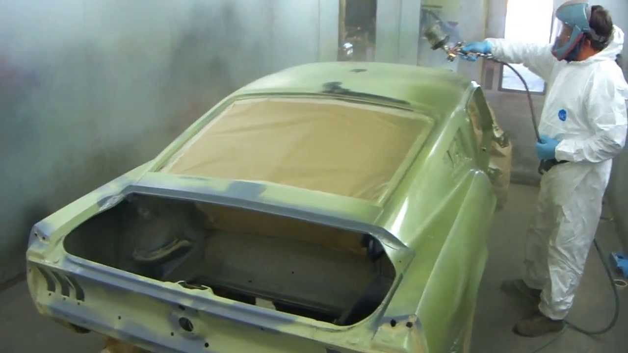 1967 Ford Mustang GT 390 S Code Lime Gold Green First
