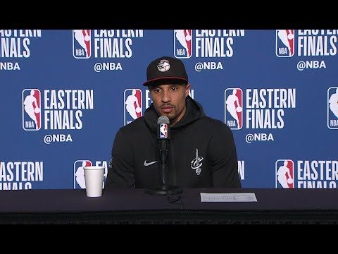 George Hill Postgame Interview - Game 6 | Cavaliers vs Celtics | 2018 NBA East Finals