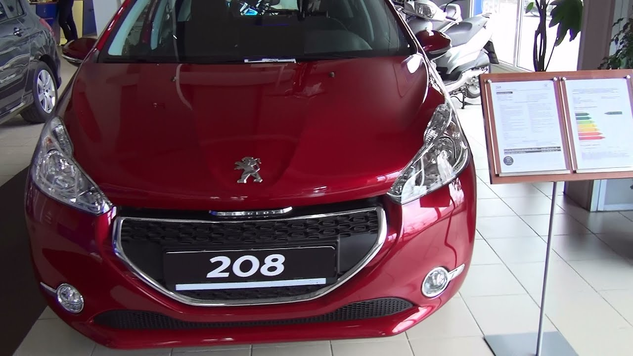 peugeot 208 5p active 1 4 hdi 68 exterior and interior in full 3d hd youtube. Black Bedroom Furniture Sets. Home Design Ideas