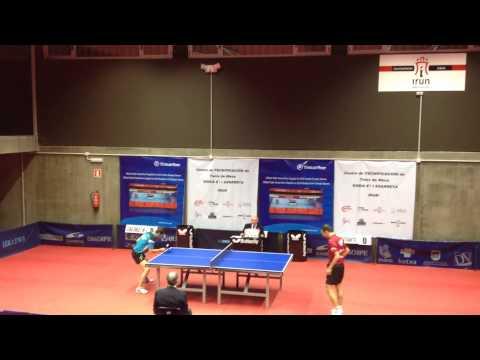 Libre Sancho - Carlos Machado (Spanish Table Tennis Superdivision 2013/14) Set 5 of 5