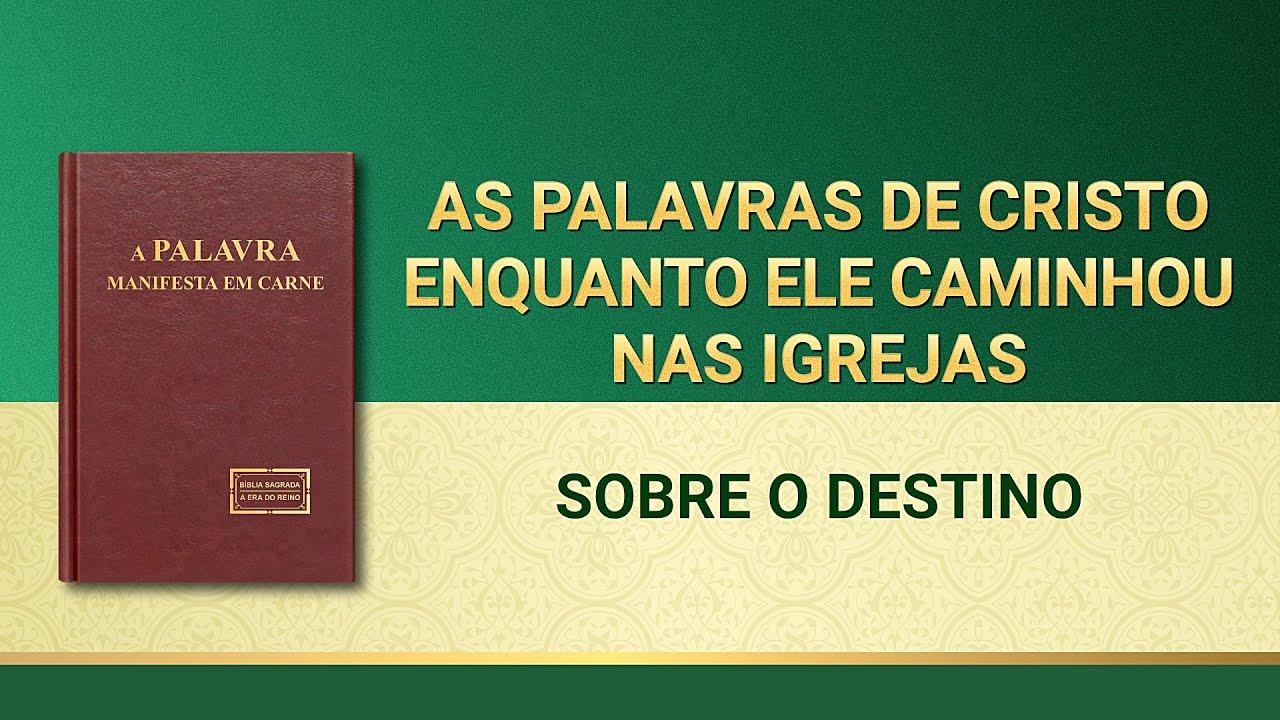 """Palavra de Deus """"Sobre o destino"""""""