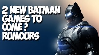 New Batman Game & Suicide Squad Game - Interesting Details (Rumours)