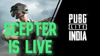 🔴SUPPORT SECOND CHANNEL || PUBG LIVE STREAM || SCEPTER