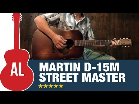 Martin D-15M Streetmaster - New for 2017!