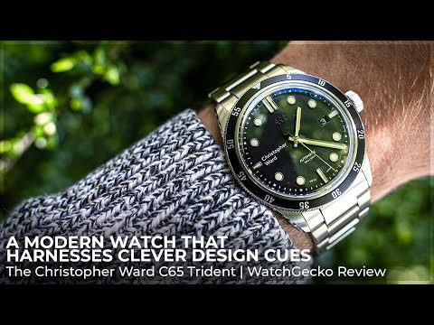 A Modern Watch That Harnesses Clever Design Cues | The Christopher Ward C65 Trident Automatic Review