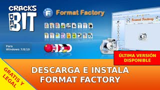 Descarga e instala Format Factory