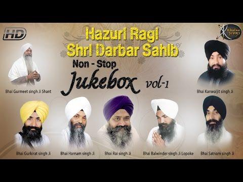 Non Stop Kirtan By Hazuri Ragi's | Darbar Sahib | Jukebox | Gurbani  Kirtan | Full Audio