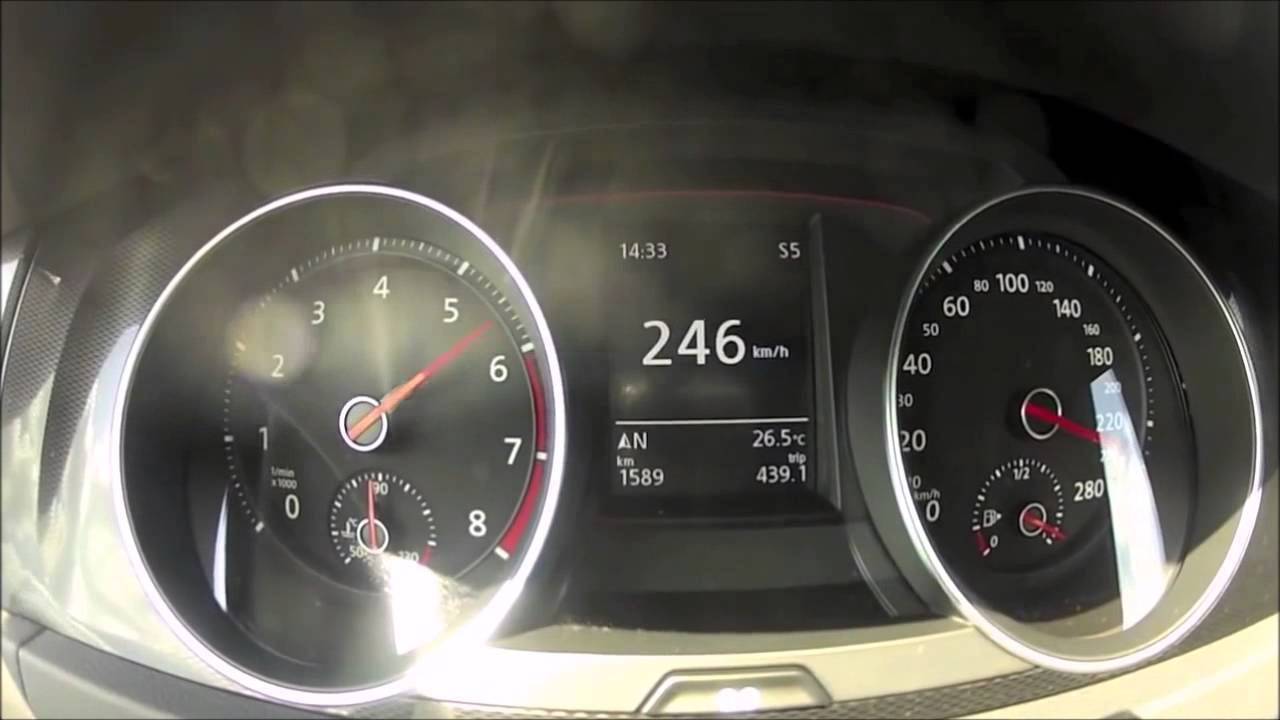 golf gti accelerations top speed dsg and manual youtube rh youtube com
