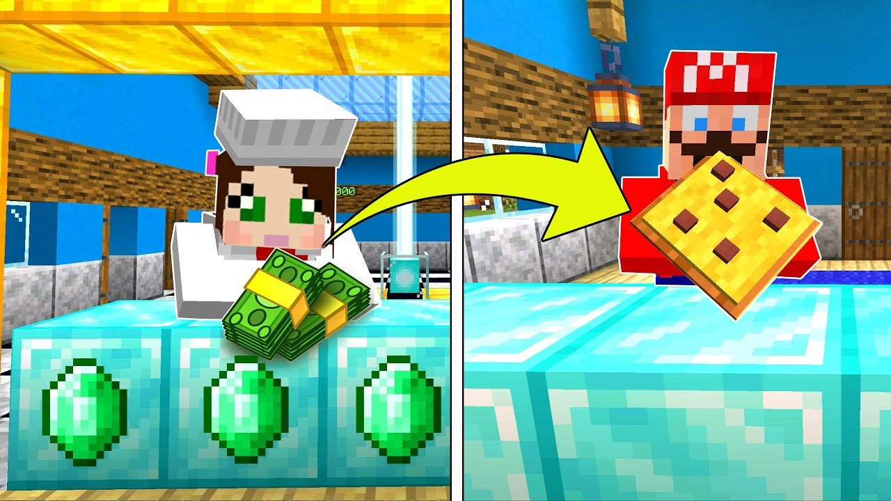 Minecraft Pizza Restaurant Tycoon Build The Best Pizza Place