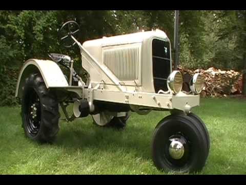 1937 FORD TRACTOR PROTOTYPE - YouTube